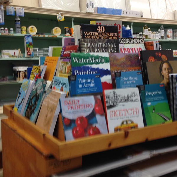 Art store, book store